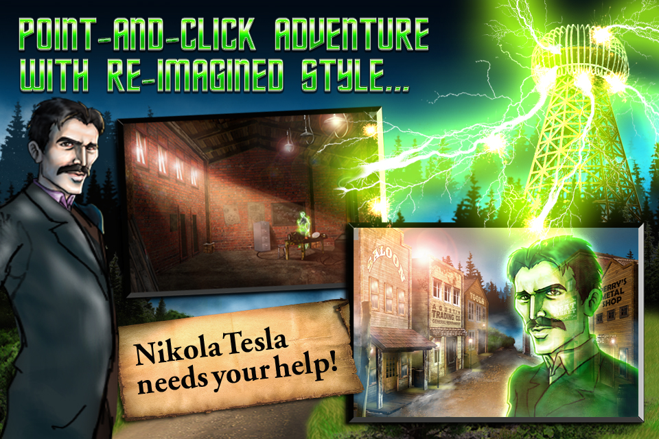 Screenshot Tesla's Electric Mist